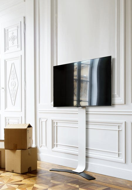 erard standit 400 bohrlose tv wandhalterung. Black Bedroom Furniture Sets. Home Design Ideas