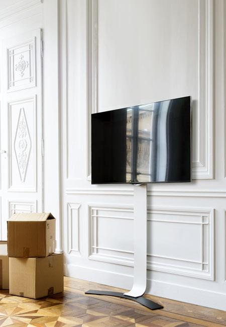 erard standit 600 bohrlose tv wandhalterung. Black Bedroom Furniture Sets. Home Design Ideas