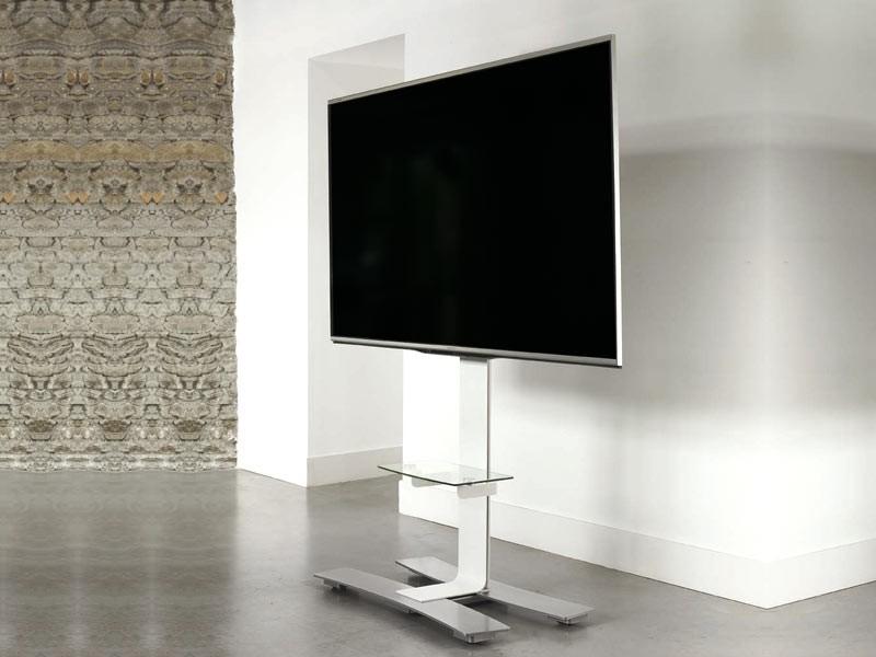 erard will 1050l mobiler monitorst nder mit ablage wei. Black Bedroom Furniture Sets. Home Design Ideas