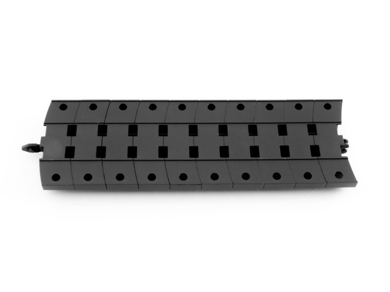EVOline WireLane 3-fach Set, Untertisch Kabelkanal, Untertischkanal