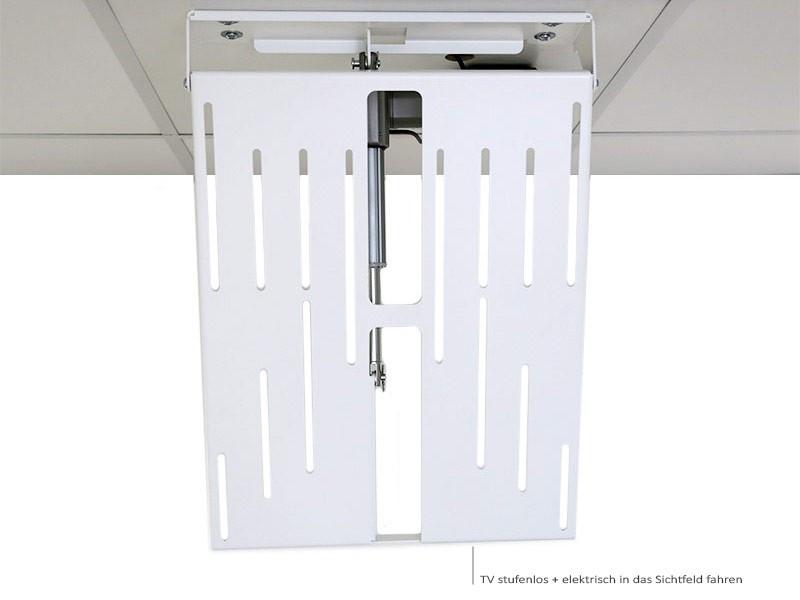 Monlines mmotion flip elektrische tv deckenhalterung wei - Elektrische zahnburste mit wandhalterung ...