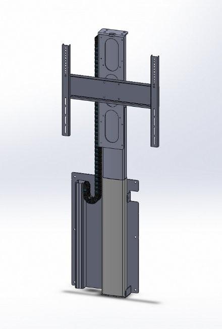 MonLines myTVLift, MLW675S, elektrische Wandhalterung, TV Lift
