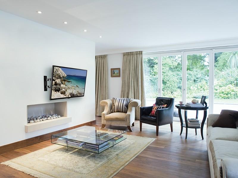 peerless pa740 paramount schwenkbare tv tv wandhalterung. Black Bedroom Furniture Sets. Home Design Ideas