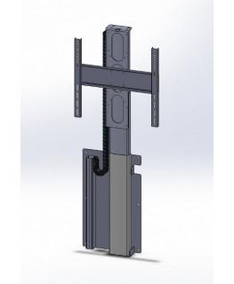 h henverstellbar wandhalterung 65 105 monitore monitorhalterung. Black Bedroom Furniture Sets. Home Design Ideas