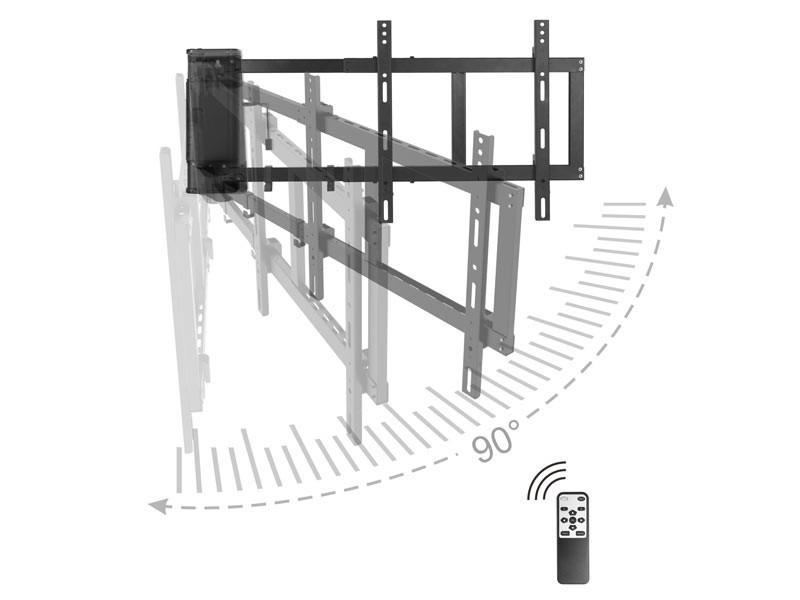 Monlines Myswing M04 Elektrische Wandhalterung Tv Schwarz