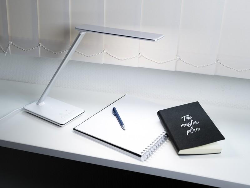 teclines dl002w led tischlampe dimmbar leselampe. Black Bedroom Furniture Sets. Home Design Ideas